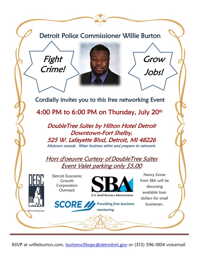 Free Networking Event On July 20th