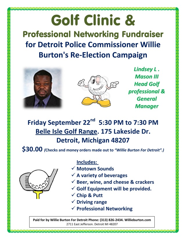 Golf Clinic & Professional Networking Fundraiser